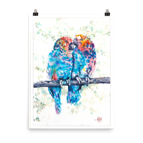 Pair-a-Parrots *Fine Art Prints