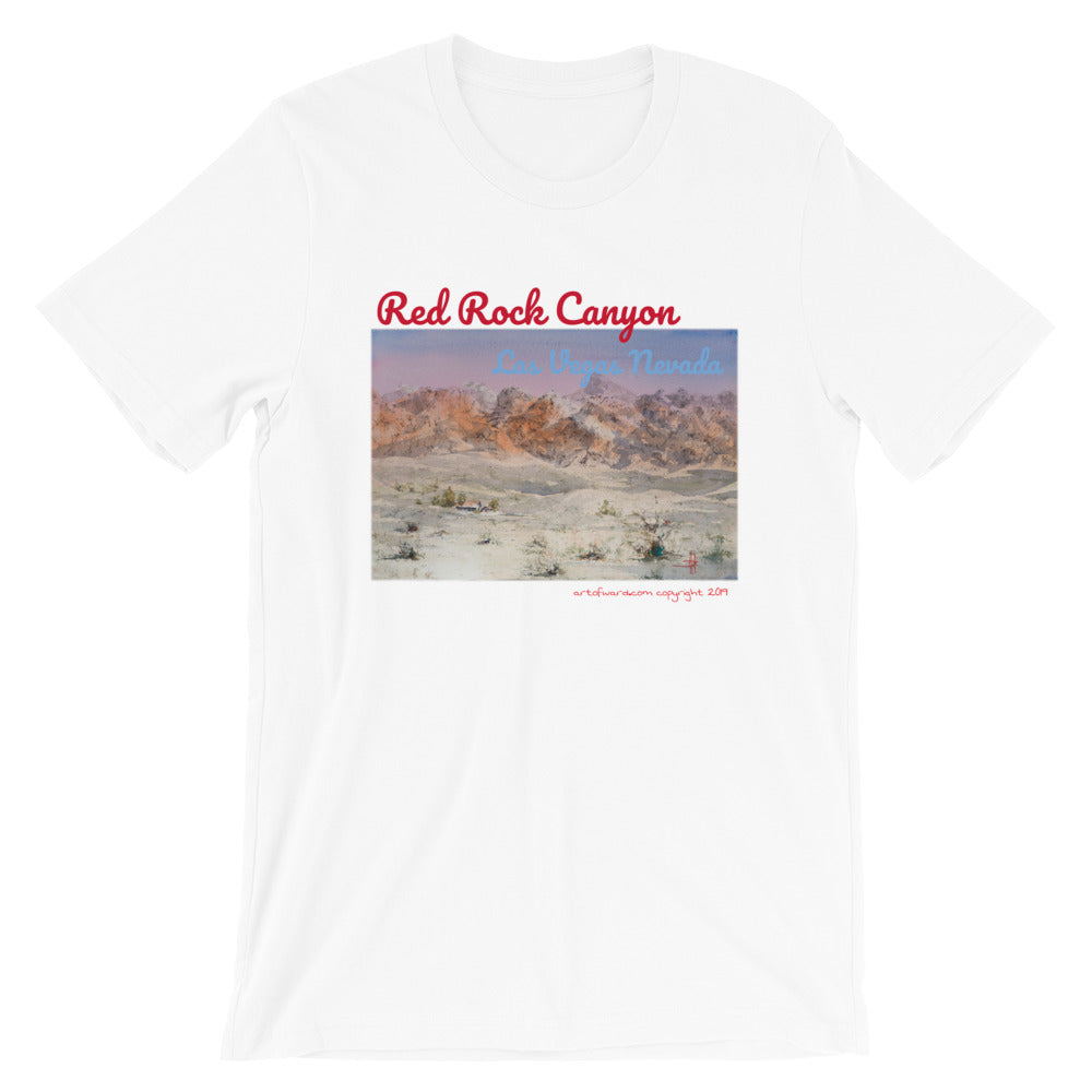 Red Rock Canyon Las Vegas Nevada T-Shirt