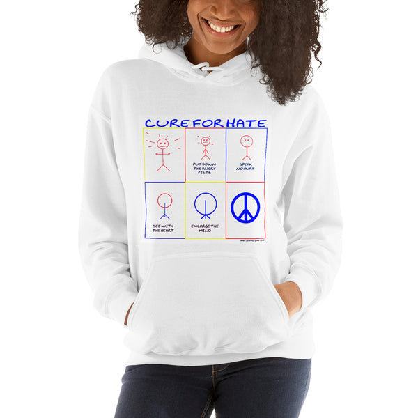 Cure for Hate Hooded Sweatshirt