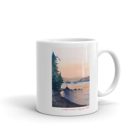 Hall Rock (sunset lovers) Mug