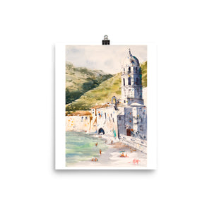 The Church by the Sea *Fine Art Prints