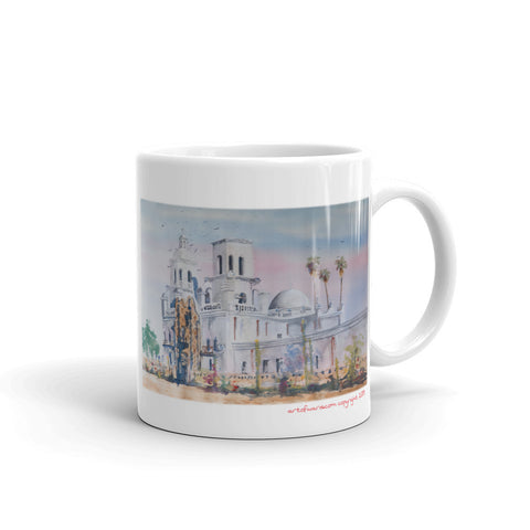 The White Dove of the Desert Mug
