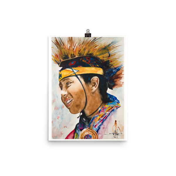 Pow Wow Boy *Fine Art Prints