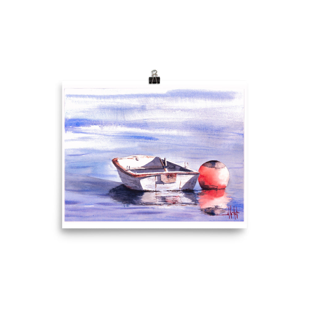 A Bouy And His Boat *Fine Art Prints!