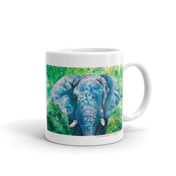 The Blue Elephant Mug