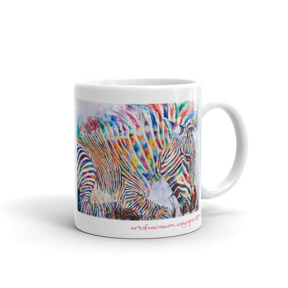 Fruity Zebra Mug