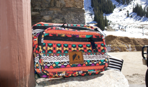 Custom Tribal Fanny Pack Arapahoe Basin Ski Resort