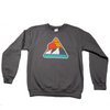 Retro Mountain - Atomic Child Dark Grey Crew Neck Sweatshirt - B Fresh