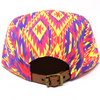 Aztec Vibrant - 5 Panel Hat - B Fresh
