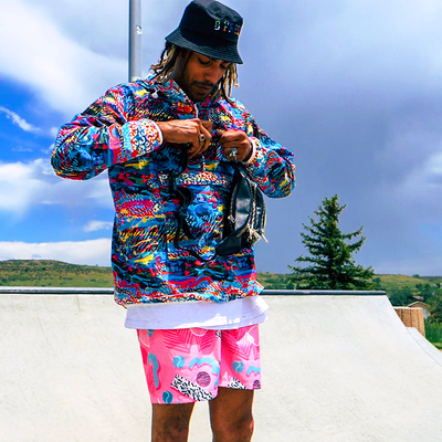 The Van Dope Fanny Pack Wind Breaker - B Fresh