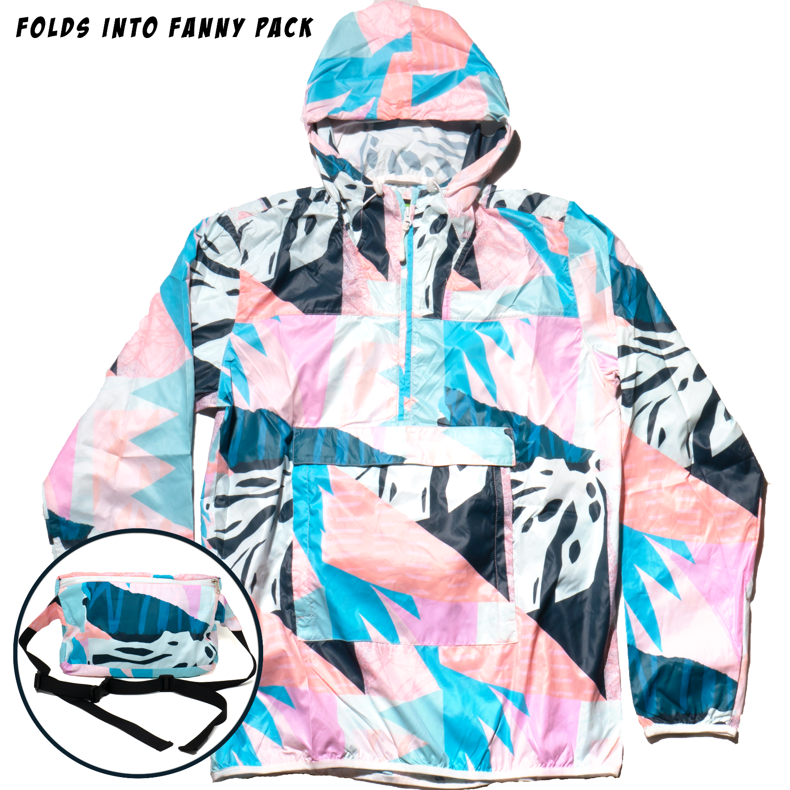 The Cordial Fanny Pack Wind Breaker