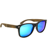 Drift Woods Dark - Vintage Wooden Sunglasses - B Fresh