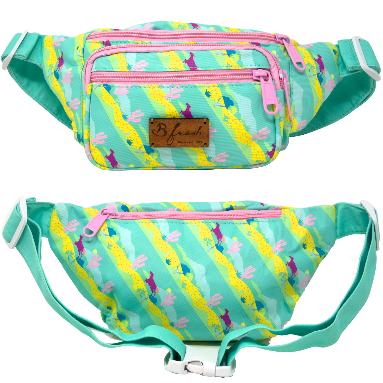 High Noon Western Print Fanny Pack - B Fresh