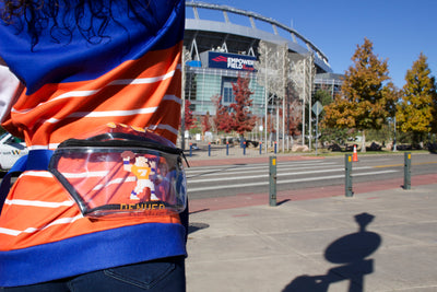 Tecmo John Stadium Approved Clear Fanny Pack