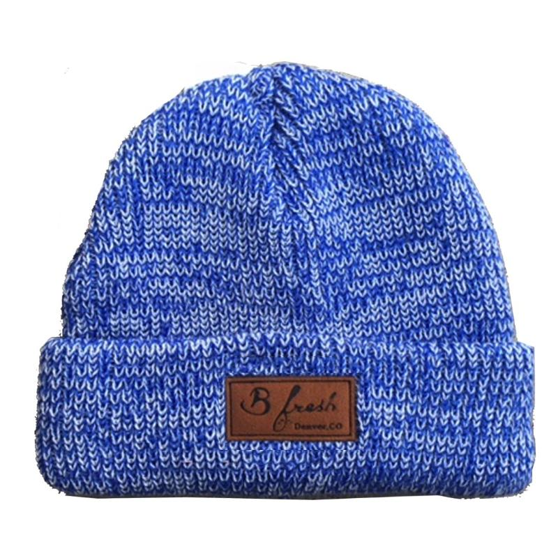 5bbd051c10604 The Mickey - Blue Merino Wool Beanie - B Fresh