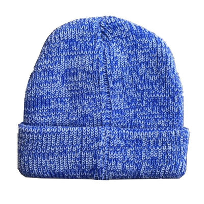 The Mickey - Blue Merino Wool Beanie - B Fresh