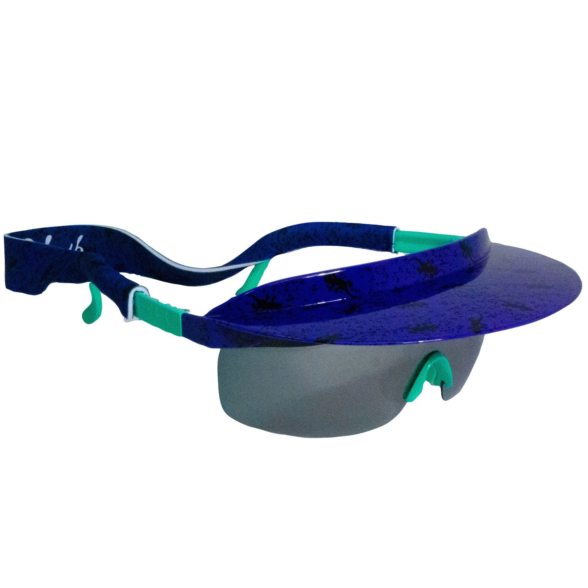 Pre-Order Gecko Hawaii Purple Visor Shades - B Fresh
