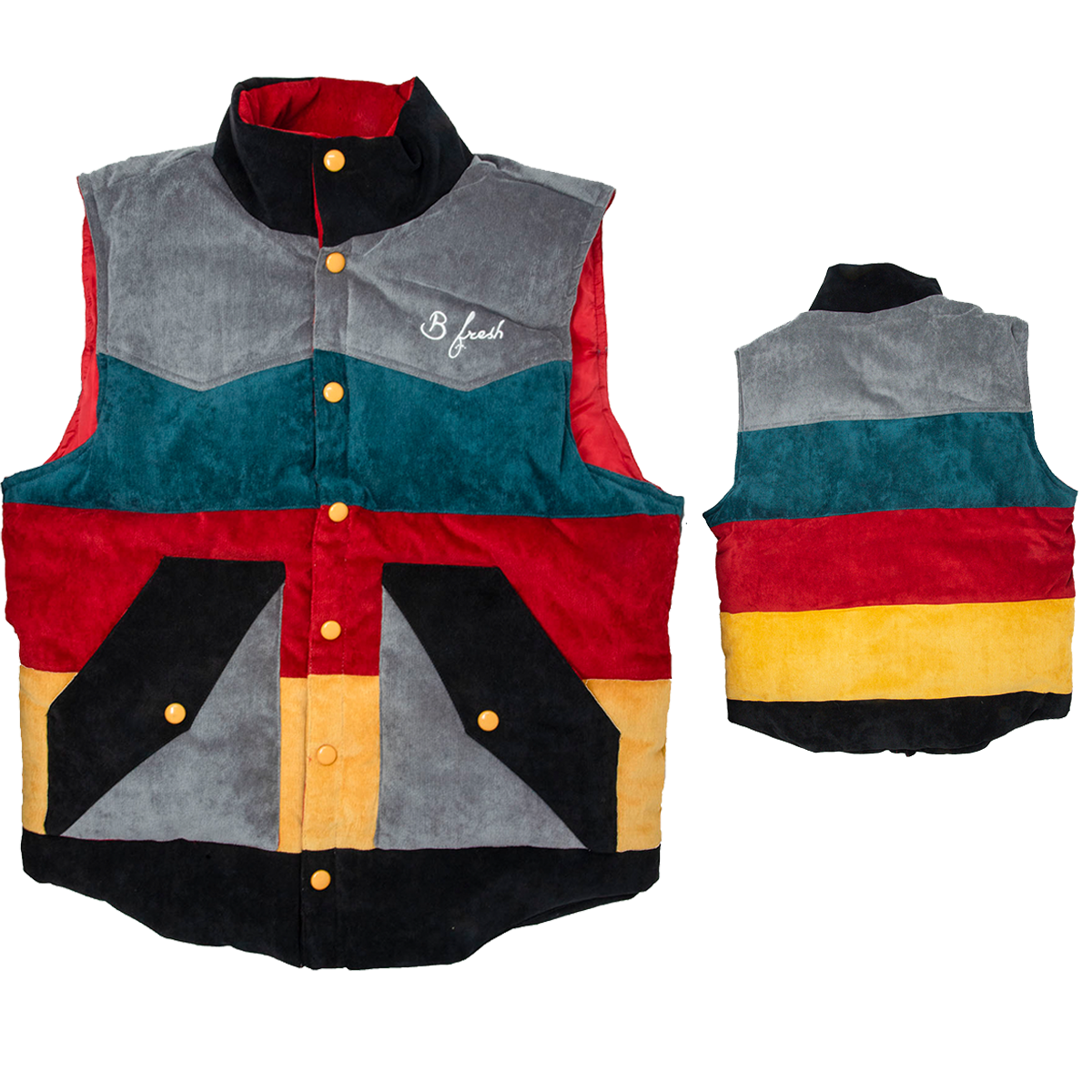 The Roy Vest - B Fresh
