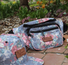 Grandma's Couch Fanny Pack - Faded Floral Pattern
