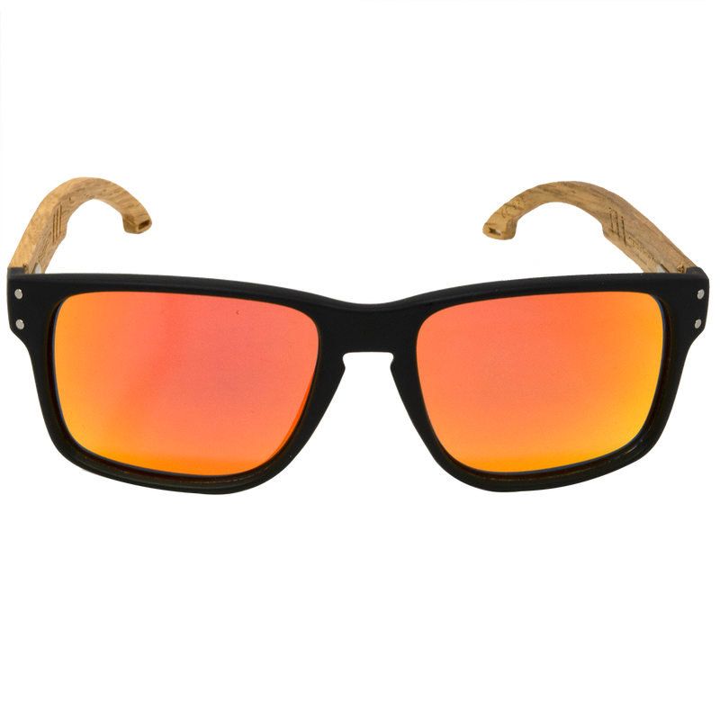 The Sun Blazers - Vintage Wooden Sunglasses