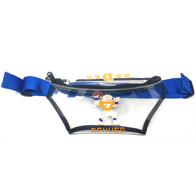 Tecmo John Stadium Approved Clear Fanny Pack - B Fresh