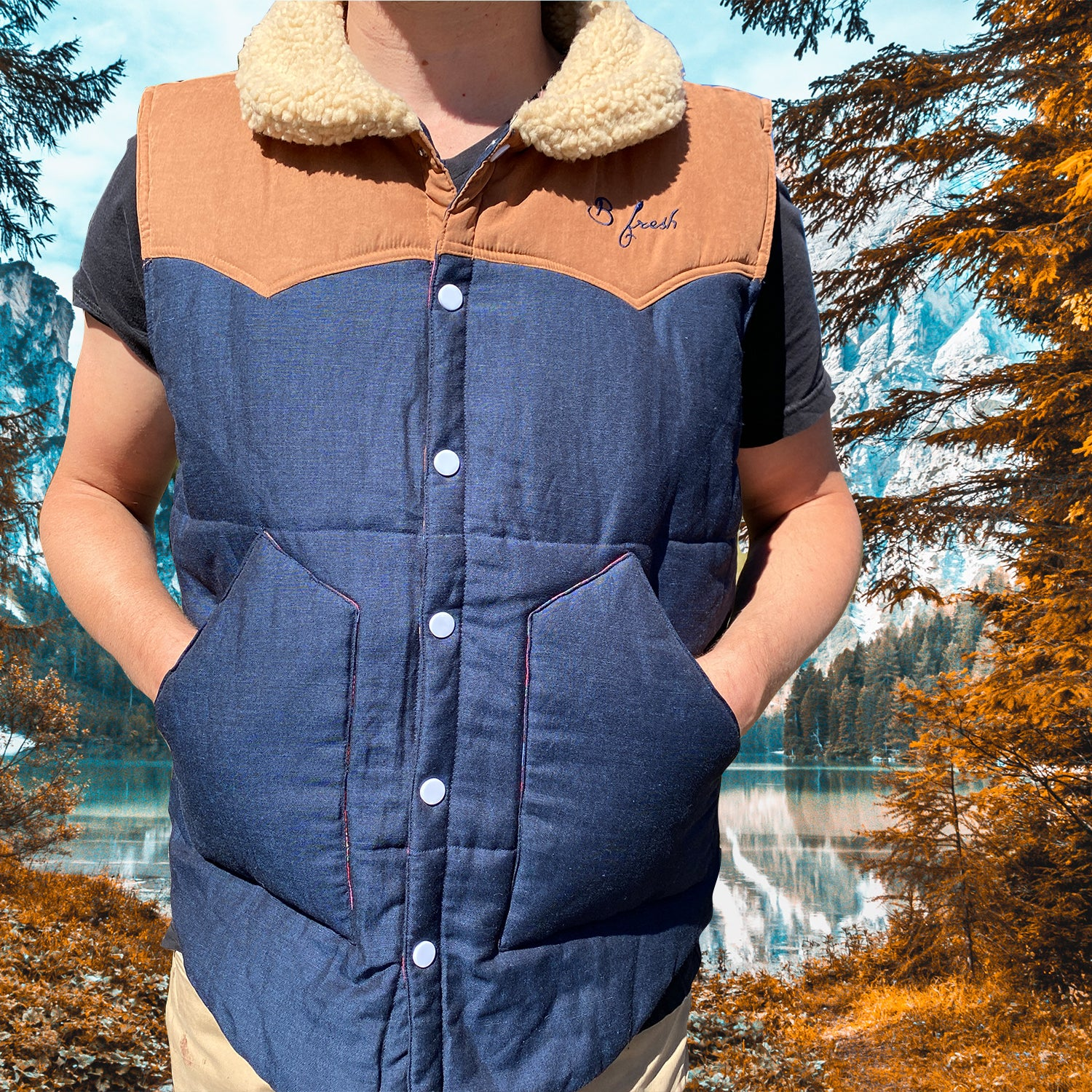 The Wrangler Reversible Western Vest