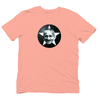 Organic Cotton t-shirt with Gandhi Print - yogiiza.com