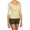 Organic Cotton Top 3/4 sleeve - yogiiza.com