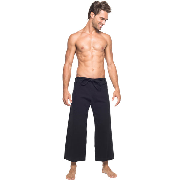Black Yoga Pants For Men