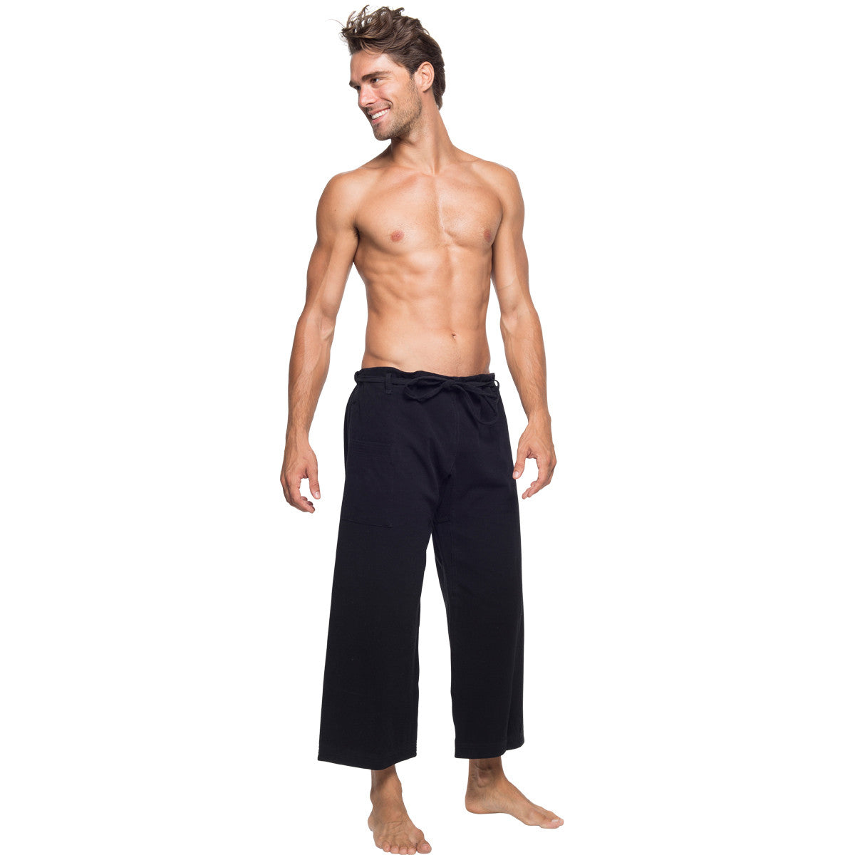 Whether you go to yoga multiple times a week, or you're more likely to meditate on your couch for a lazy Sunday, yoga pants are the seriously comfy athletic pants that every guy needs. Check out our favorite yoga pants for men to stay zen in style.