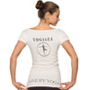 Woman's organic shirt -  YOGiiZA UNiFiED T - yogiiza.com