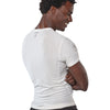 Men's Yoga Compression Shirt - Medium - Pure White - yogiiza.com