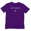 DONT LABEL ME organic T-shirt - yogiiza.com