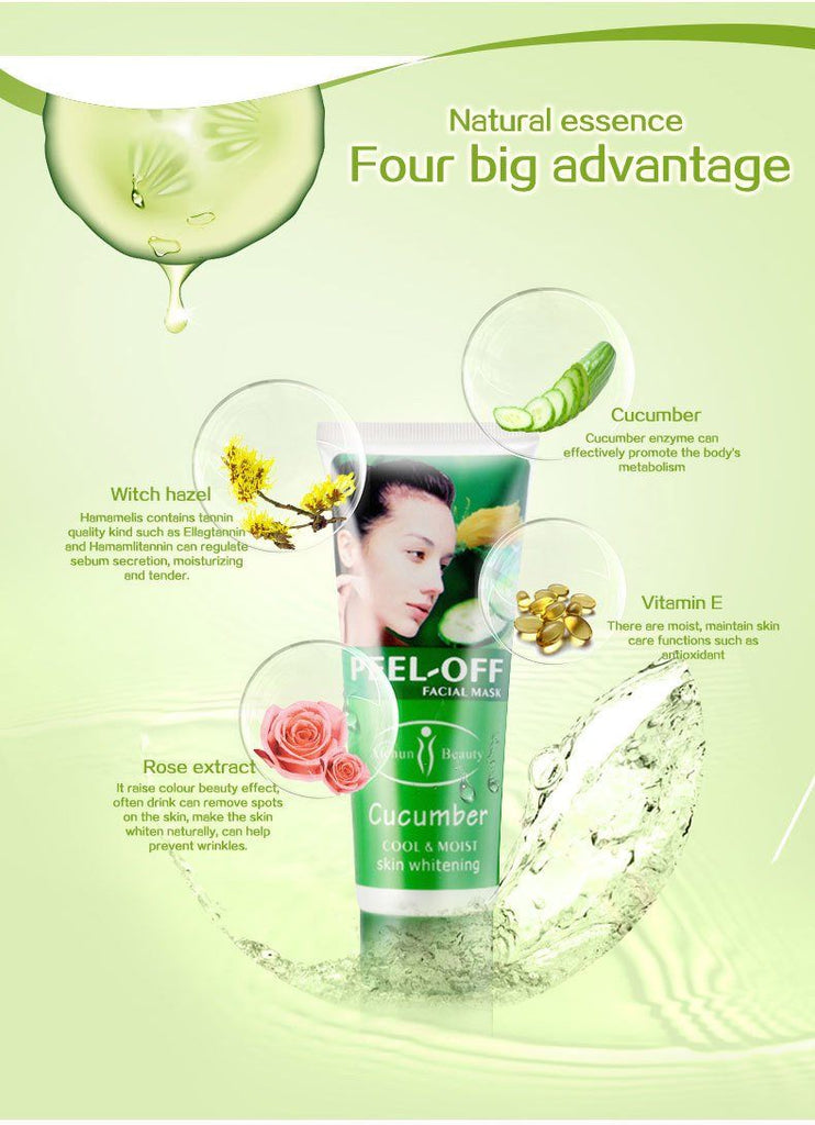 Transparent Cucumber Peel Mask - Caxato