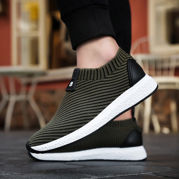 Men's Fly Woven Running Shoes - Caxato