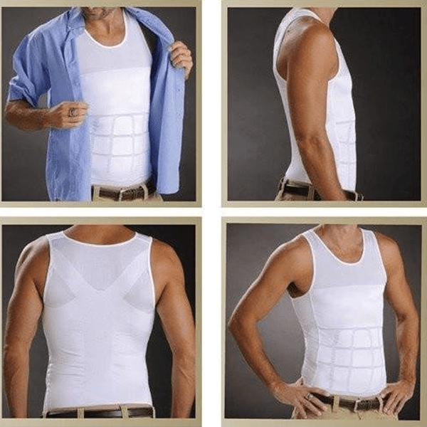 Slimming Body Vest - MEN - Caxato