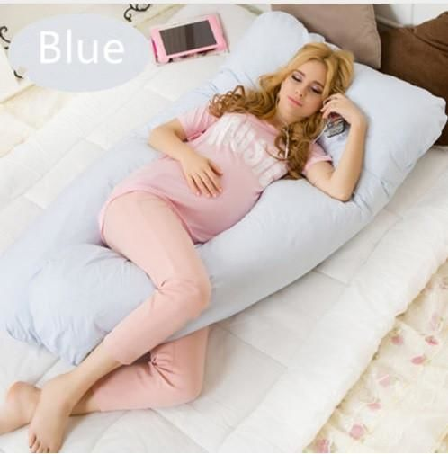 Maternity Body Pillow Blue Beds & Accessories