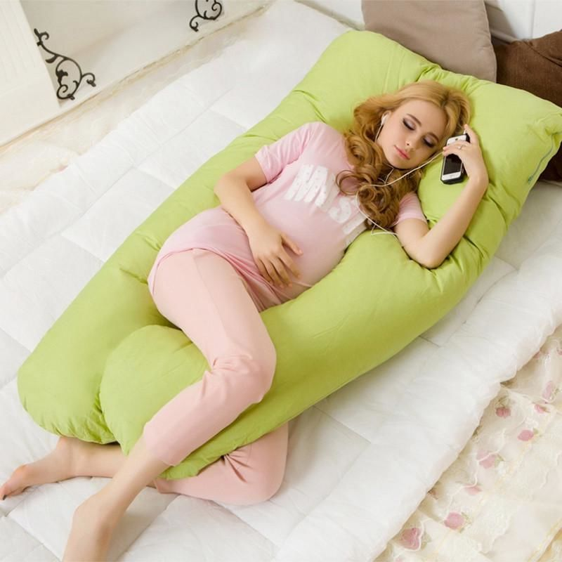 Maternity Body Pillow Green Beds & Accessories