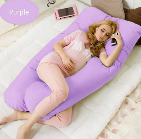 Maternity Body Pillow Purple Beds & Accessories
