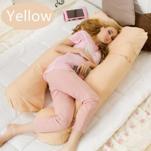 Maternity Body Pillow Yellow Beds & Accessories