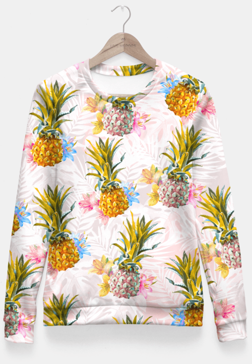 NEW COLLECTION - Fitted Waist Sweater (Pineapple)