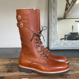 BIA COUNTRY BOOT <br/> TEXTURED TAN