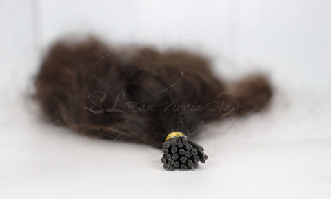 Curly Hair Micro link hair extension