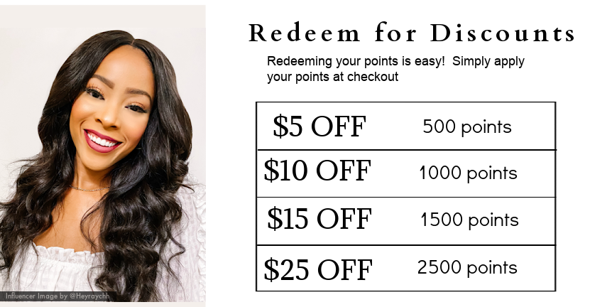 Earn Rewards with SL aw Virgin Hair