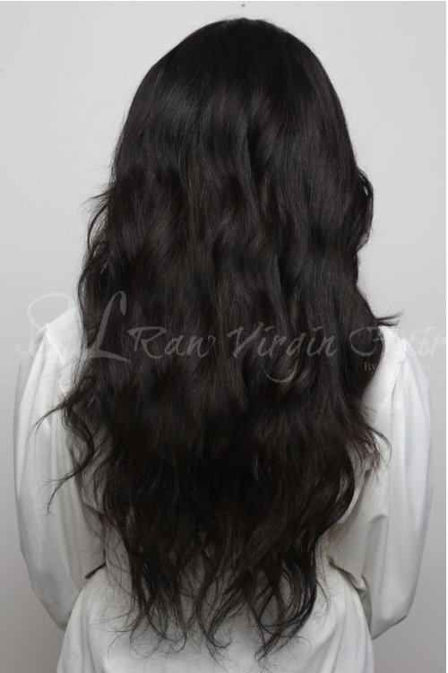 100% Raw Coarse Virgin Natural Wavy Hair