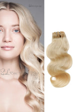 SL Raw Blonde Natural Wavy Hair (100g)
