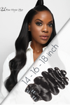 Cargar imagen en el visor de la galería, Save Money with Best 3 bundle deals Wavy premium  human hair by SL Raw virgin hair