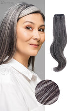 NEW SL Raw Natural Gray Hair Extensions (100g)