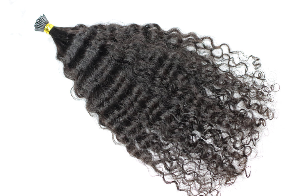 Kinky Curly I-tip micro links (50 pcs)