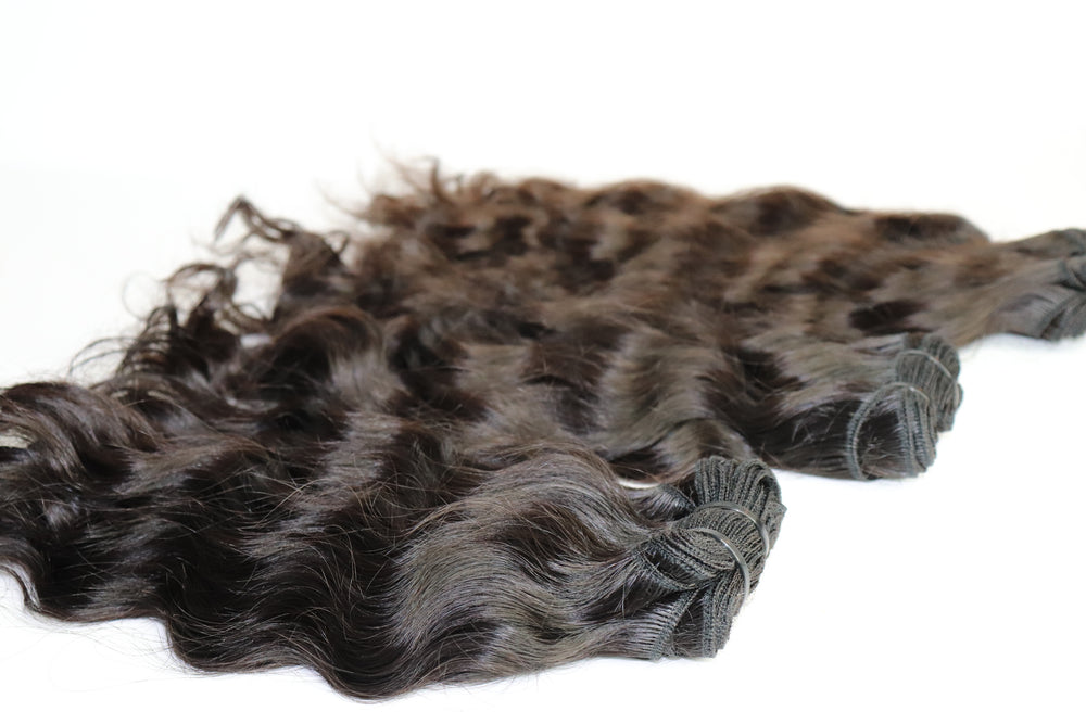 The Best Soft Premium Quality Indian Loose Curly Human Hair Extensions by SL Raw Virgin Hair